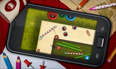 mobilna gra w kapsle