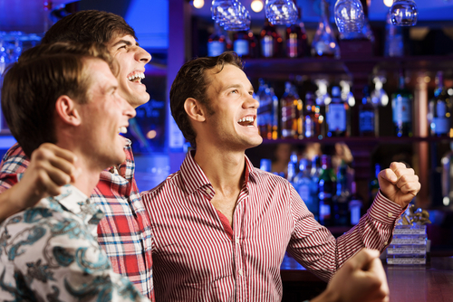 Mecz w pubie