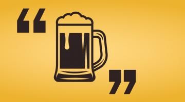 Znani ludzie o piwie